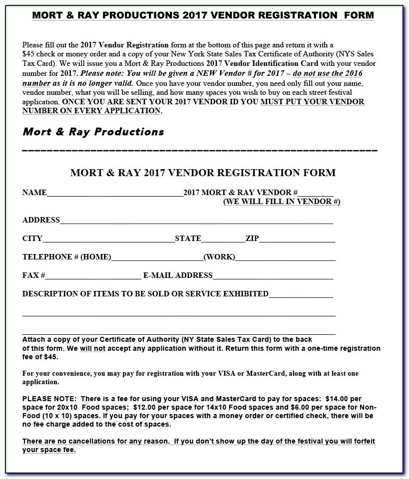 Nys Sales Tax Certificate Of Authority Number