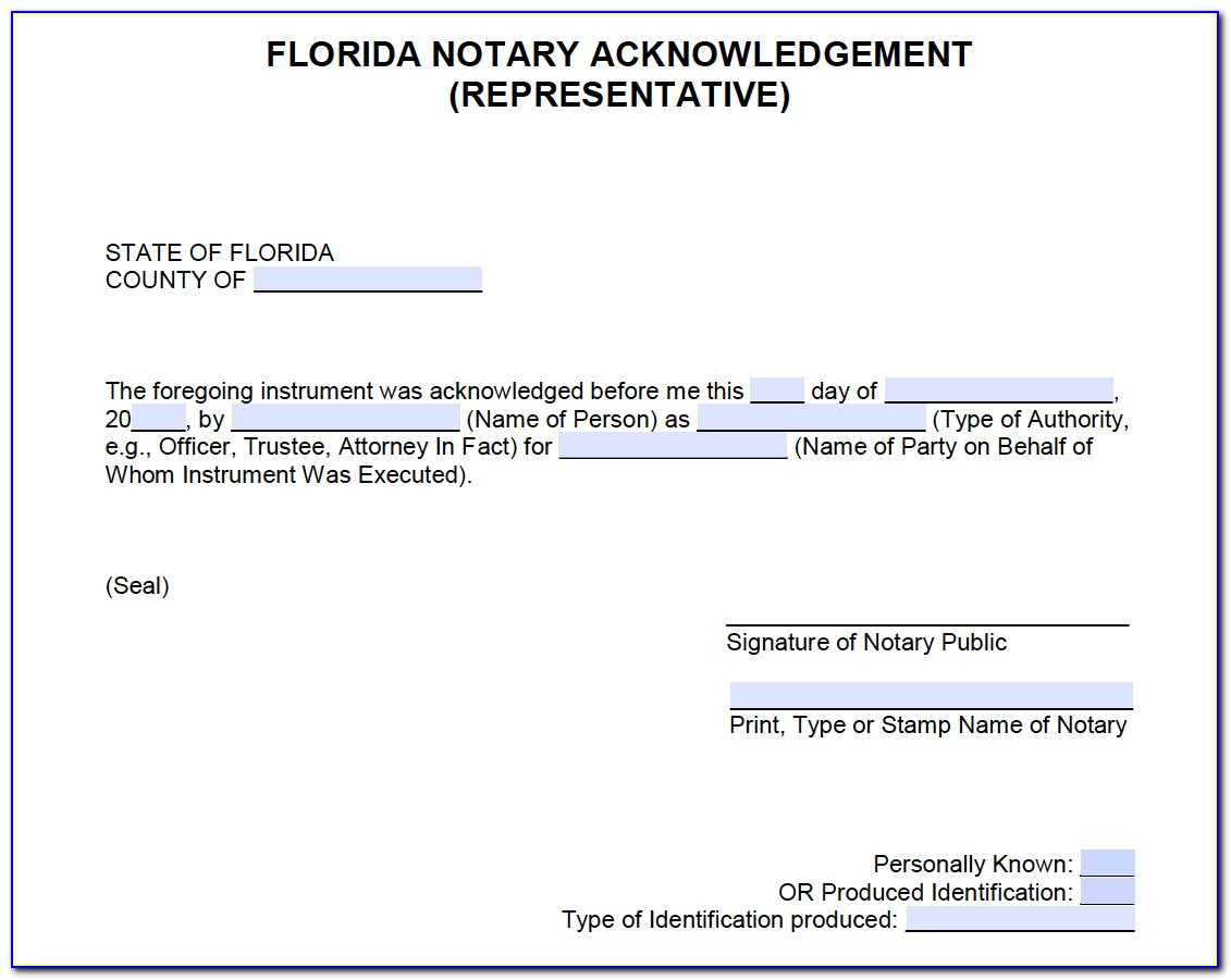 Online Notary Certification Florida