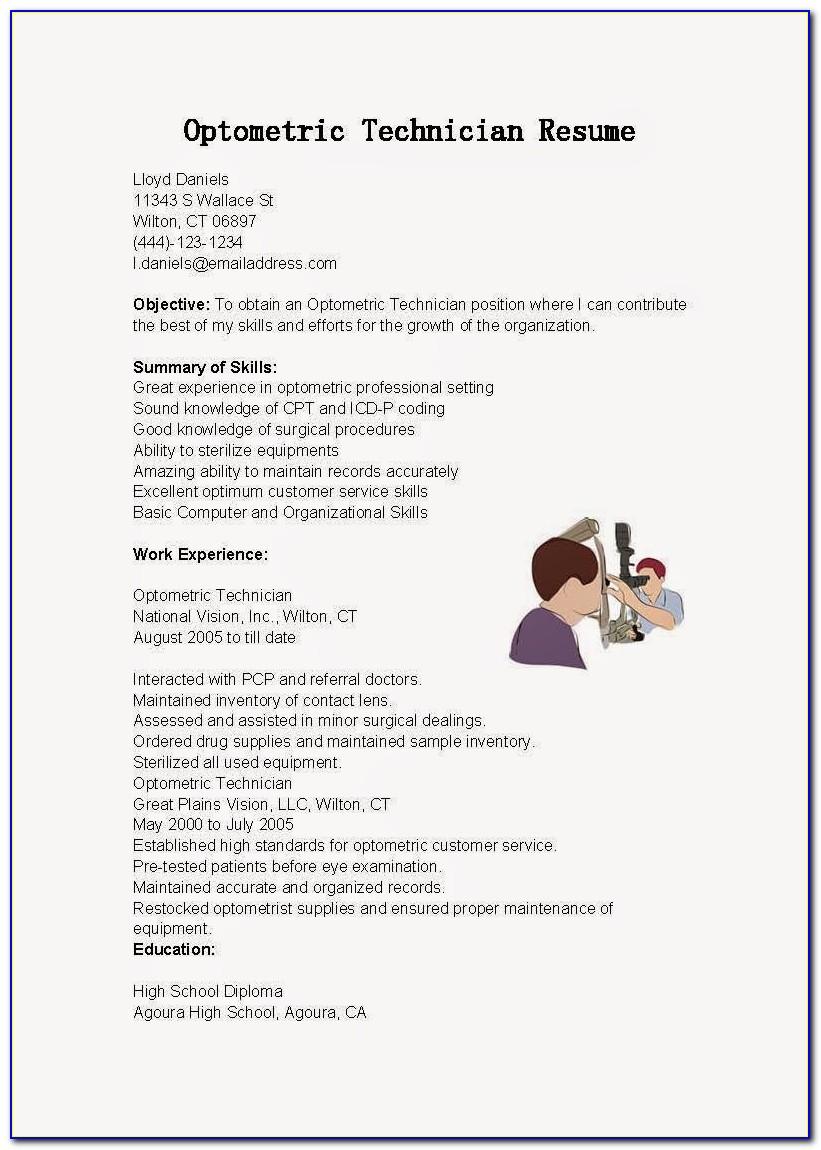 Optometric Technician Certification Near Me