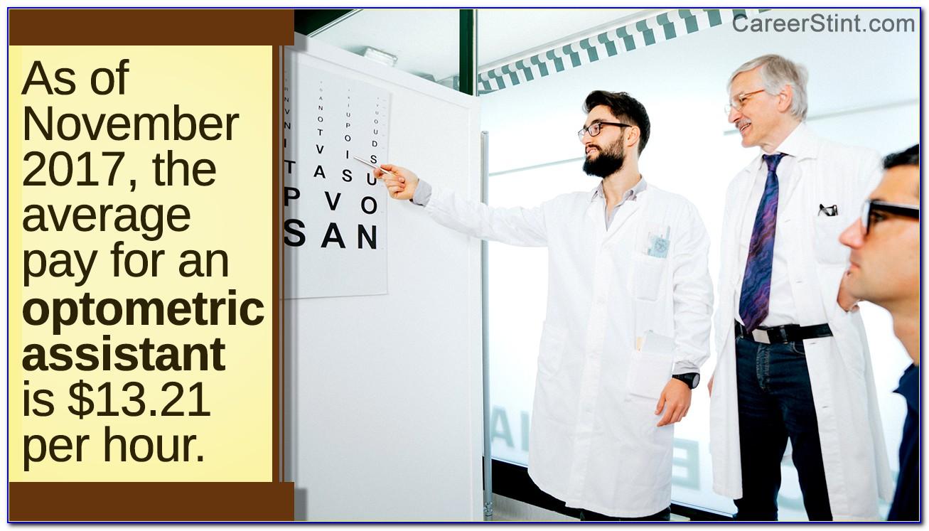 Optometrist Assistant Certification Online