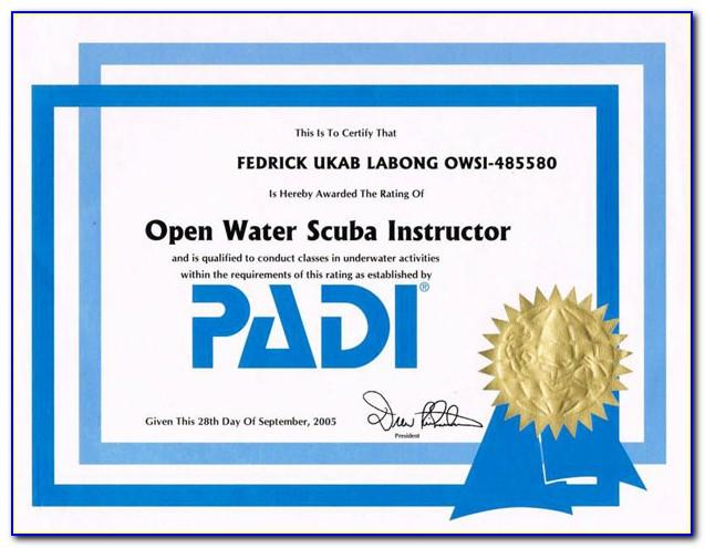 Padi Certified Nyc