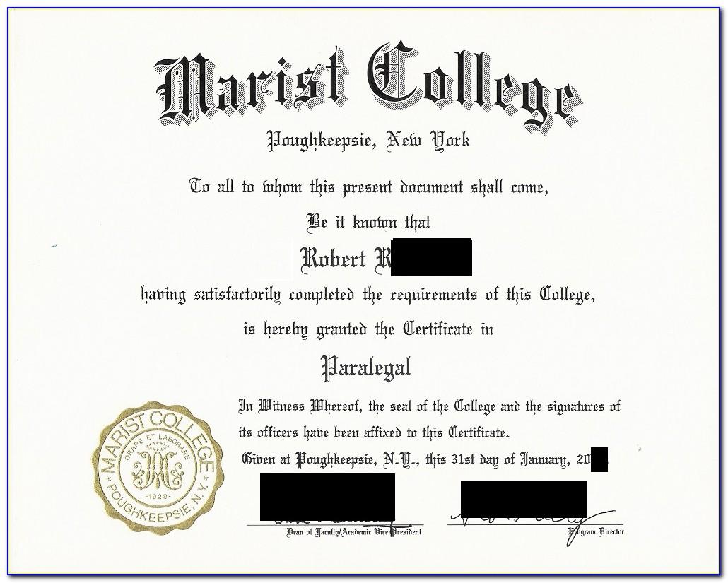 Paralegal Certificate Nyu