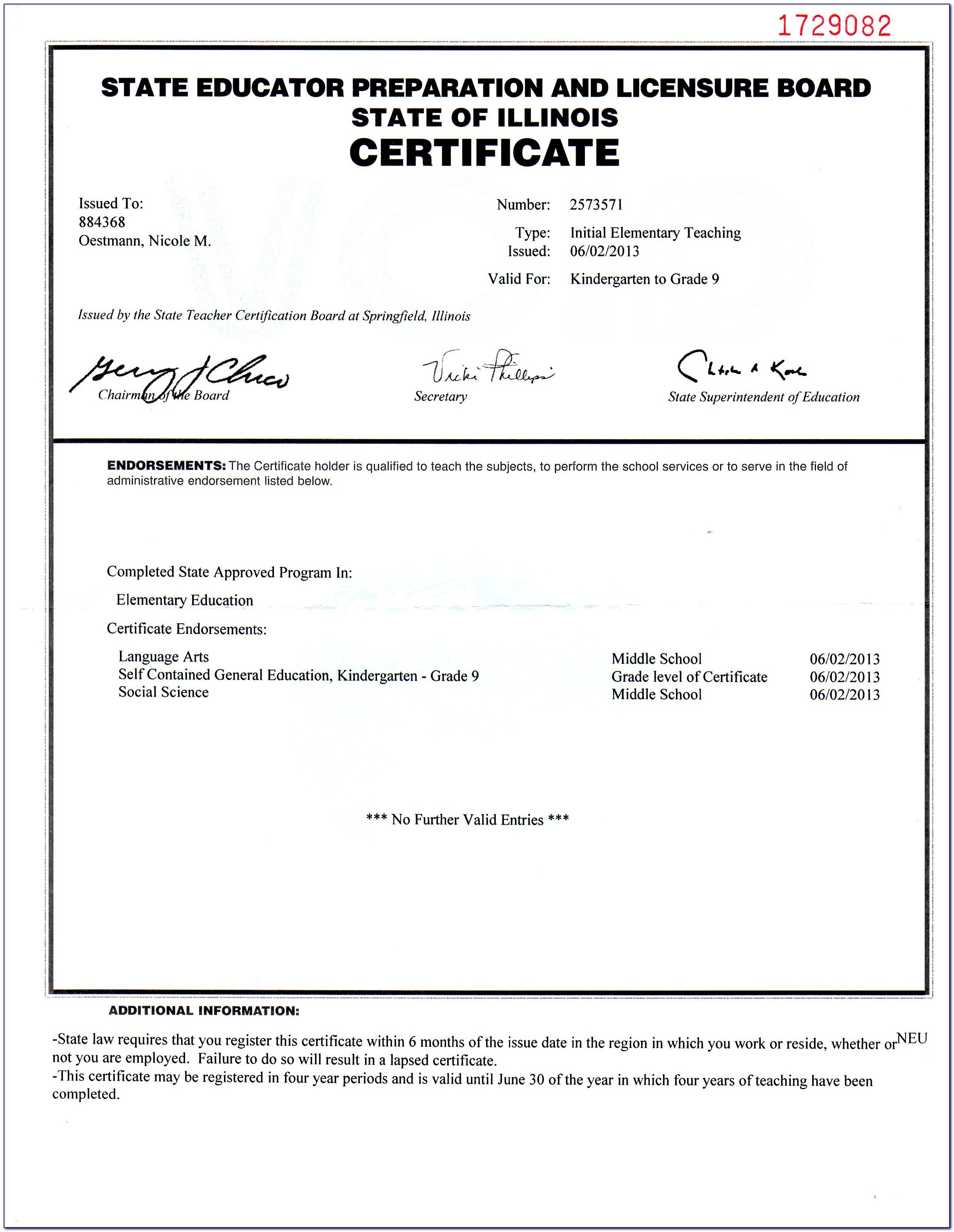 Paraprofessional Certification Illinois Practice Test