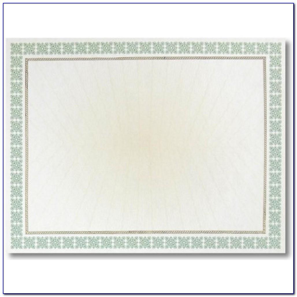 Parchment Paper For Certificates Gsm