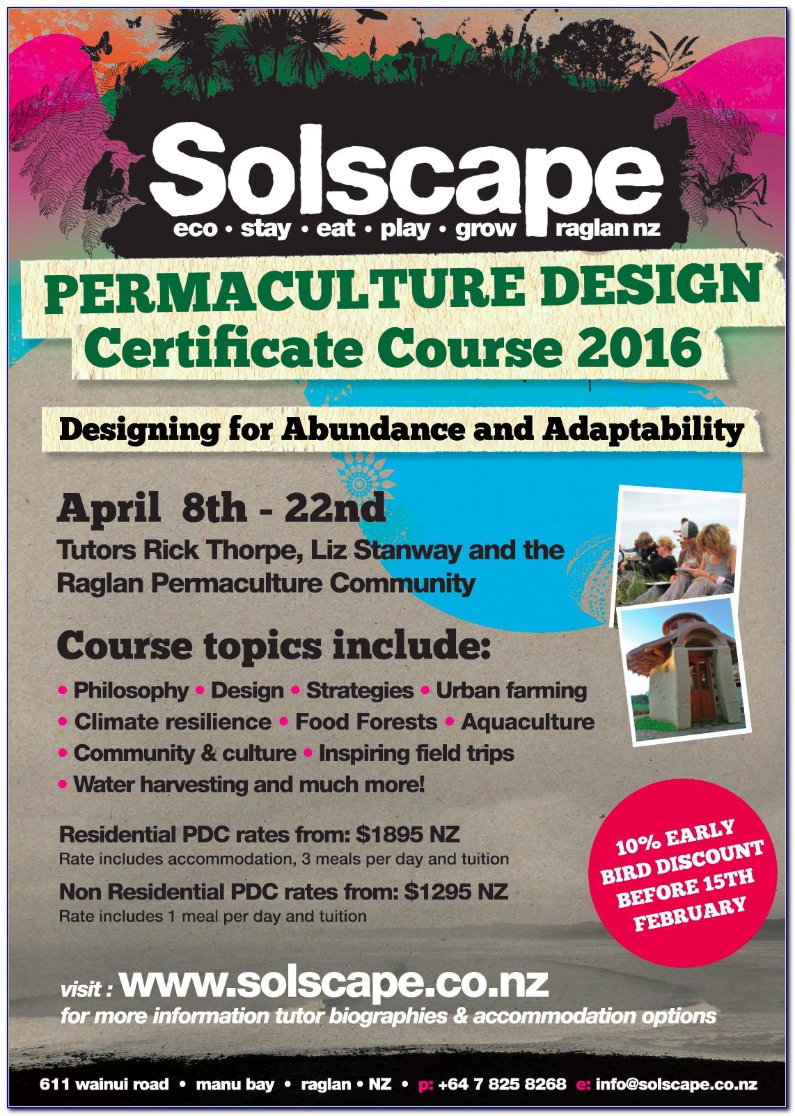 Permaculture Design Certificate Canada