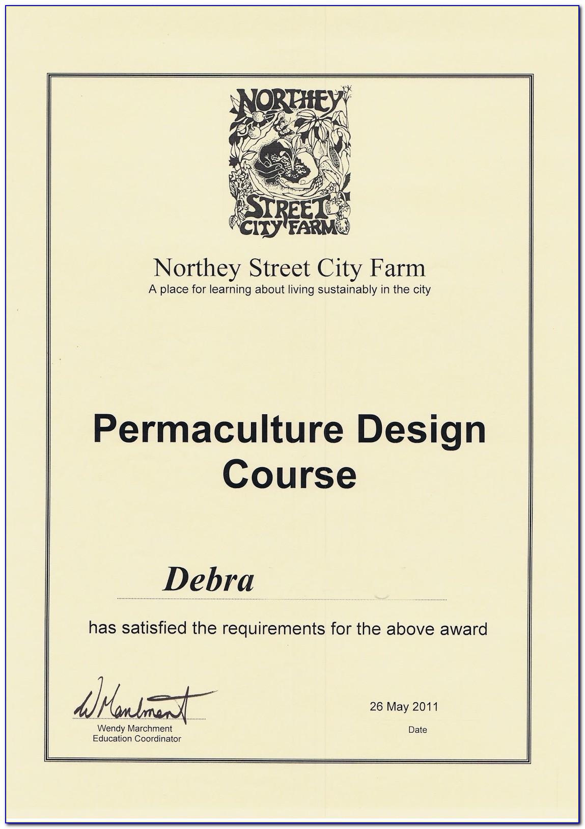 Permaculture Design Certificate Nz
