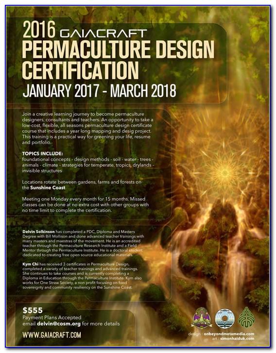 Permaculture Design Certificate Uk