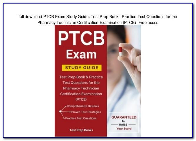 Pharmacy Technician Certification Study Guide Free Pdf