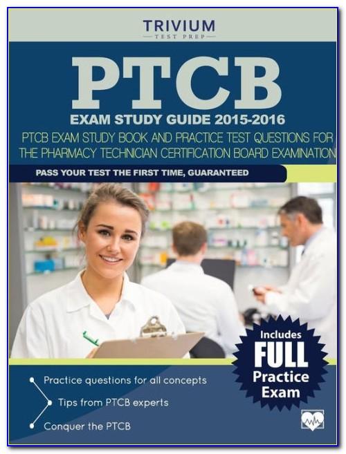 Pharmacy Technician Certification Study Guide Free
