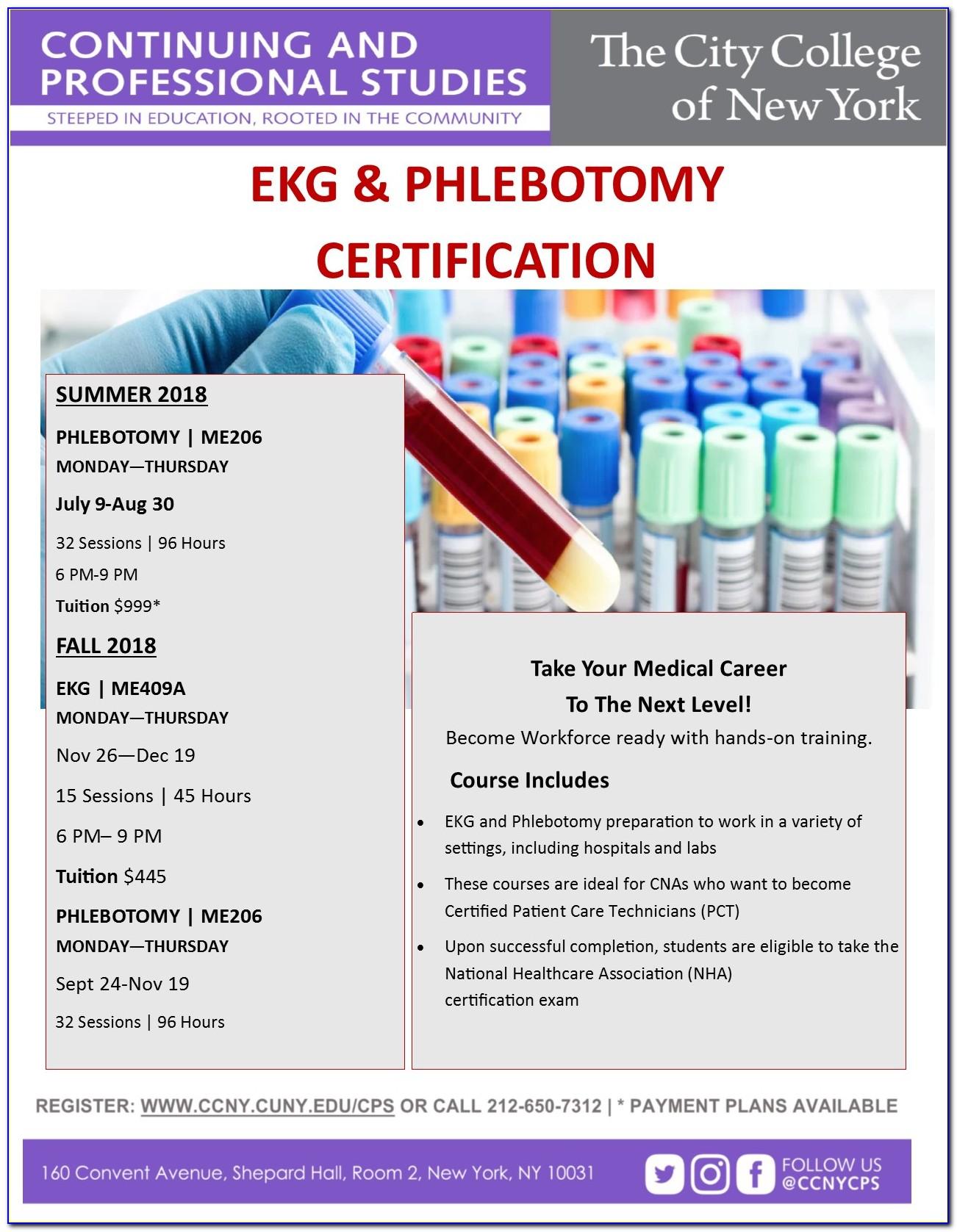 Phlebotomist Certification Renewal