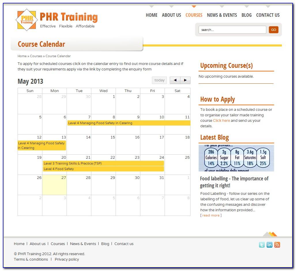 Phr Certification Classes In Memphis Tn