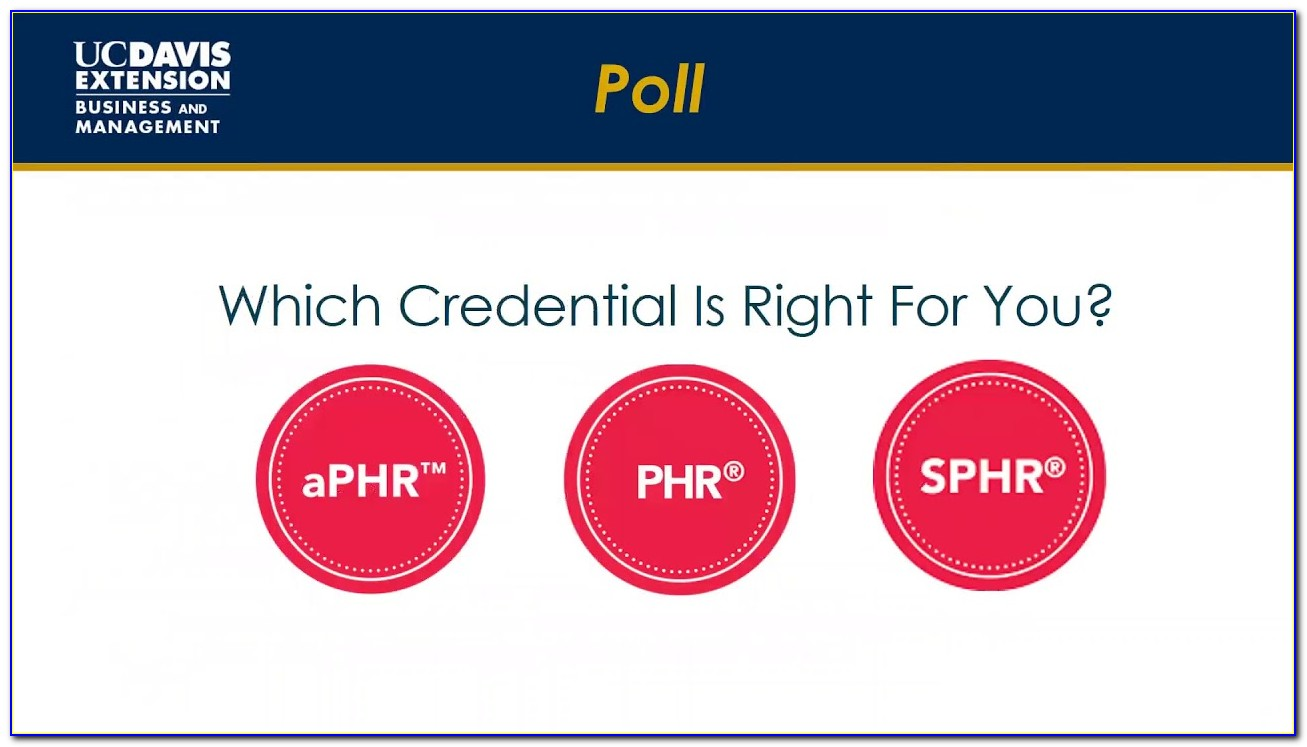 Phr Certification Classes Online