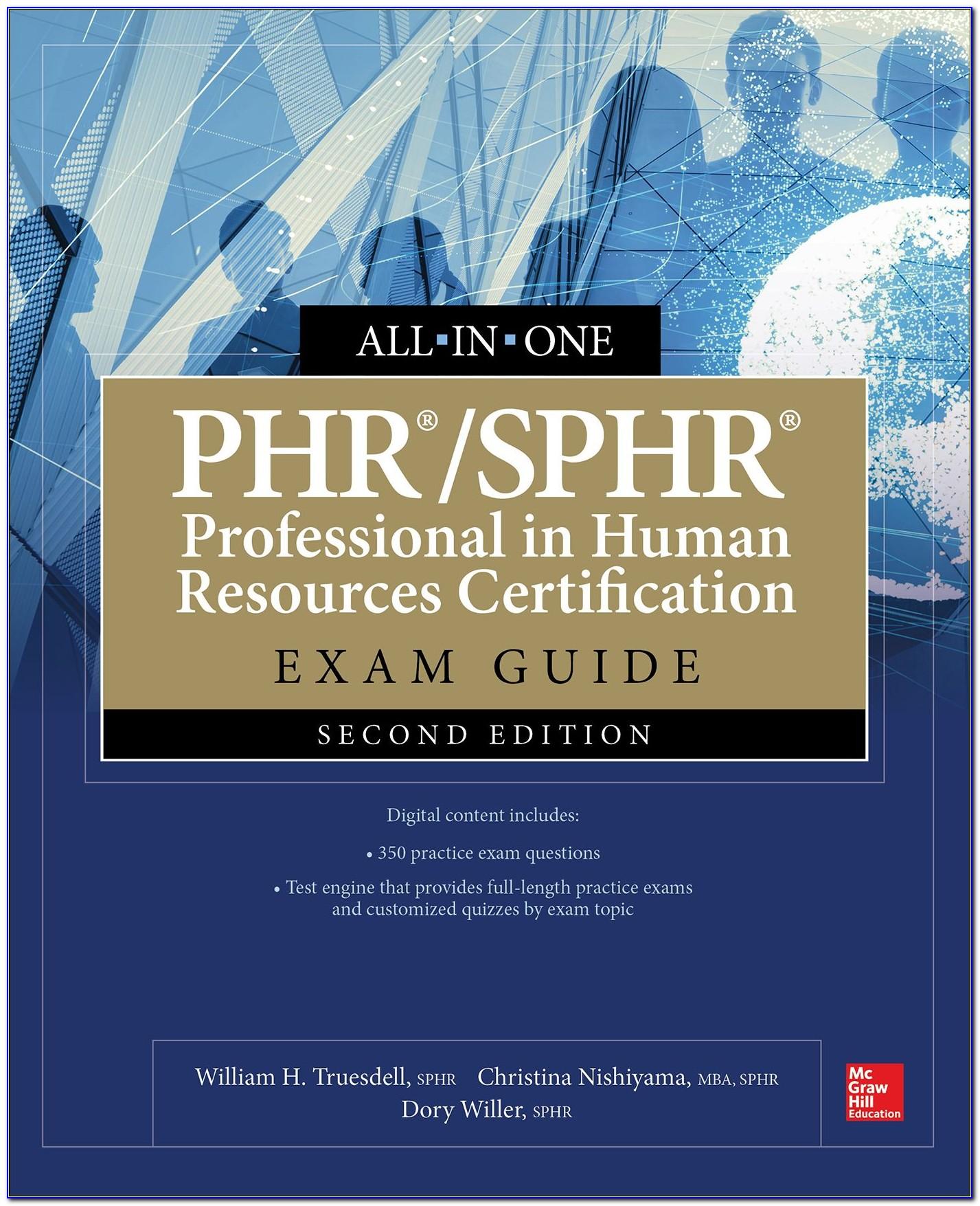 Phr Sphr Certification Preparation Course Online