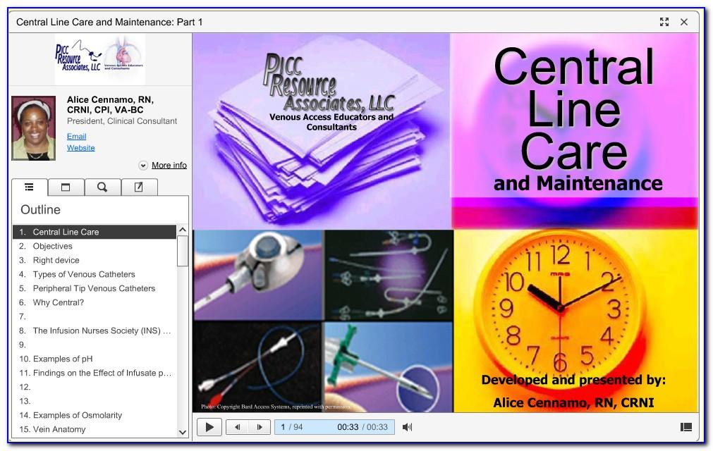 Picc Line Certification New York