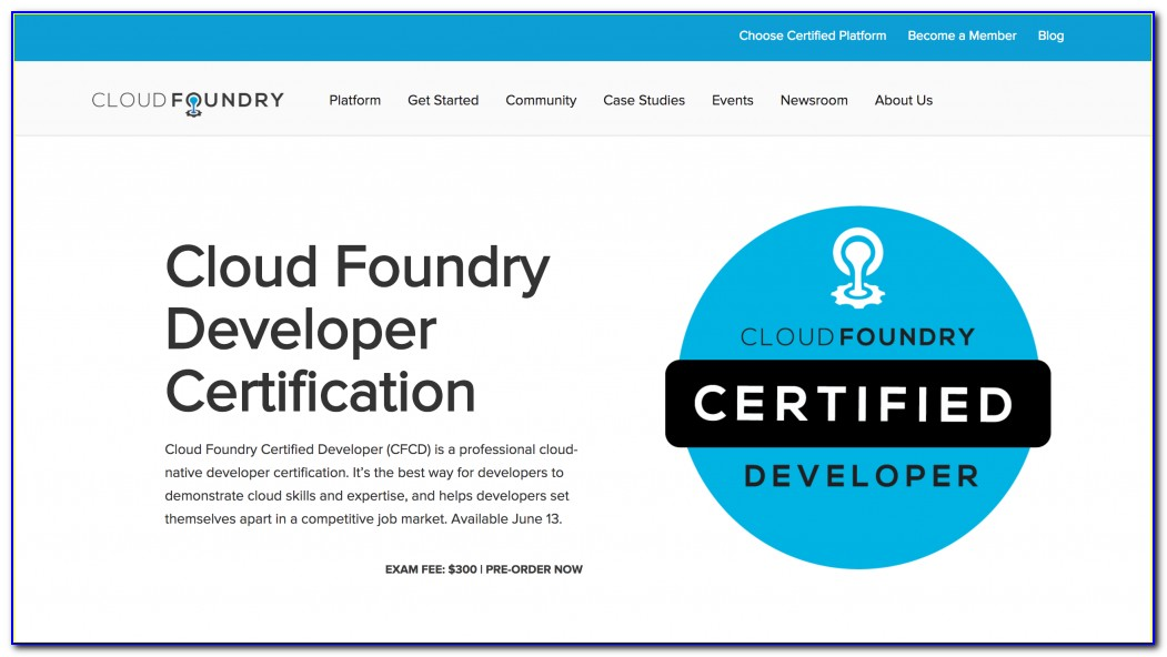 Pivotal Cloud Foundry Certification Quora