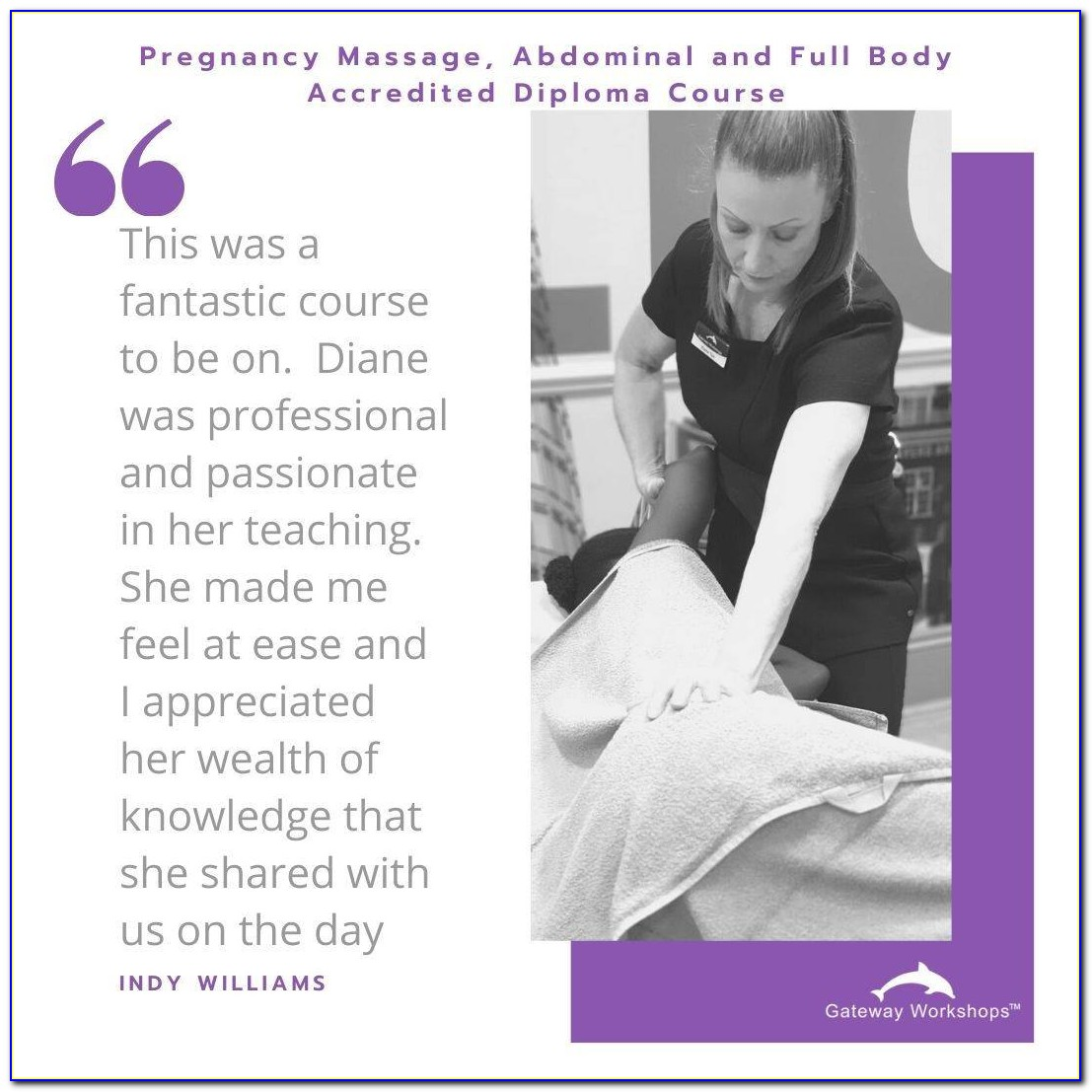Prenatal Massage Certification Online