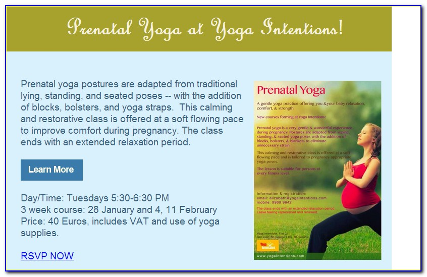 Prenatal Yoga Certification Florida