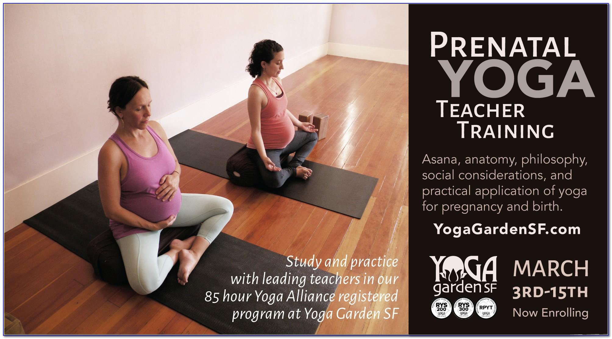 Prenatal Yoga Certification Yoga Alliance