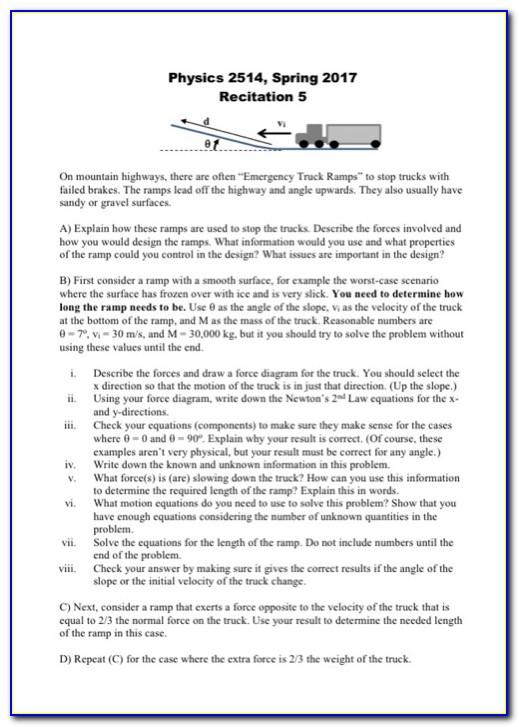 Ramp Certification Exam Answers