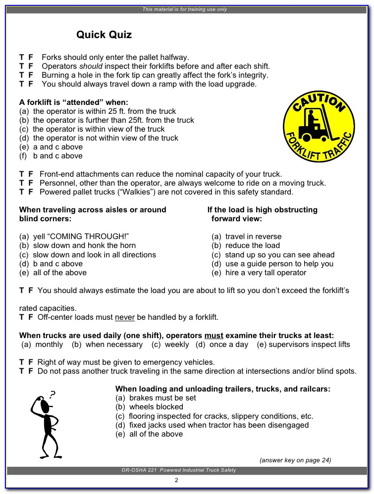 Ramp Certification Test Answers Pdf
