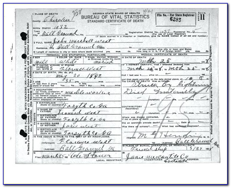 Replacement Birth Certificate Baltimore Md