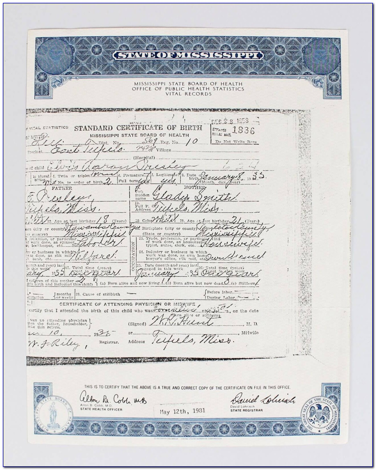Request Birth Certificate Rockford Il