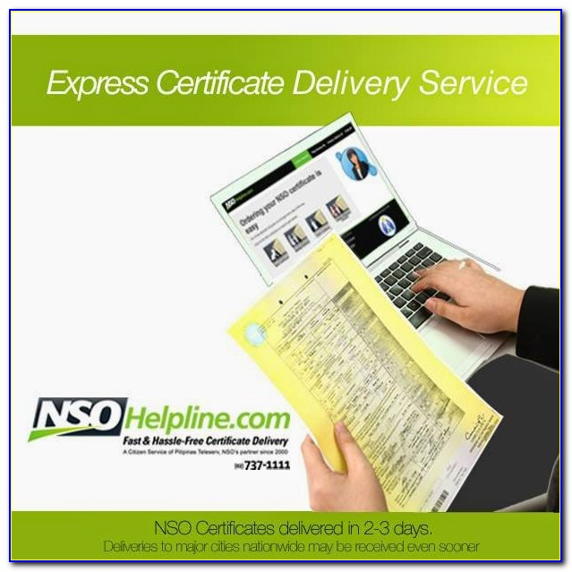 Request Nso Birth Certificate Philippines