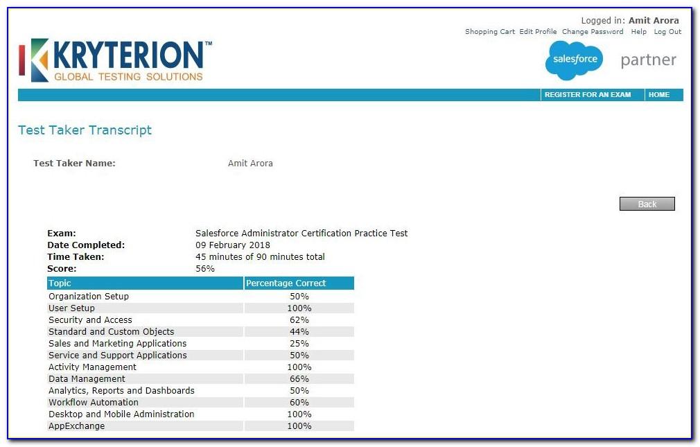 Salesforce Admin Certification Dumps Latest