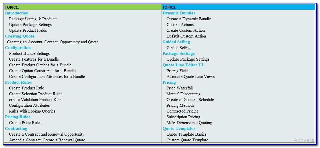 Salesforce Cpq Certification Guide