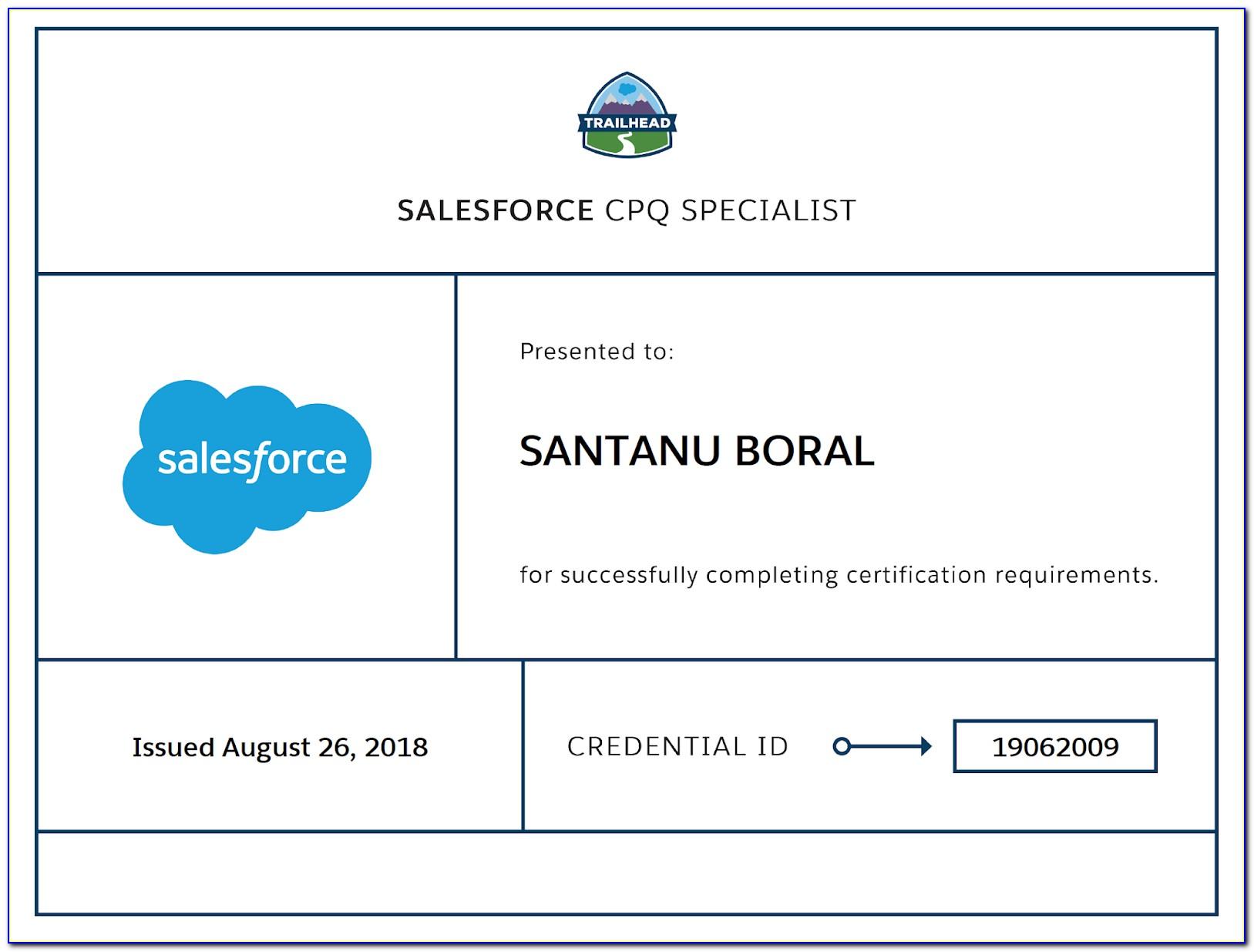 Salesforce Cpq Certification Preparation