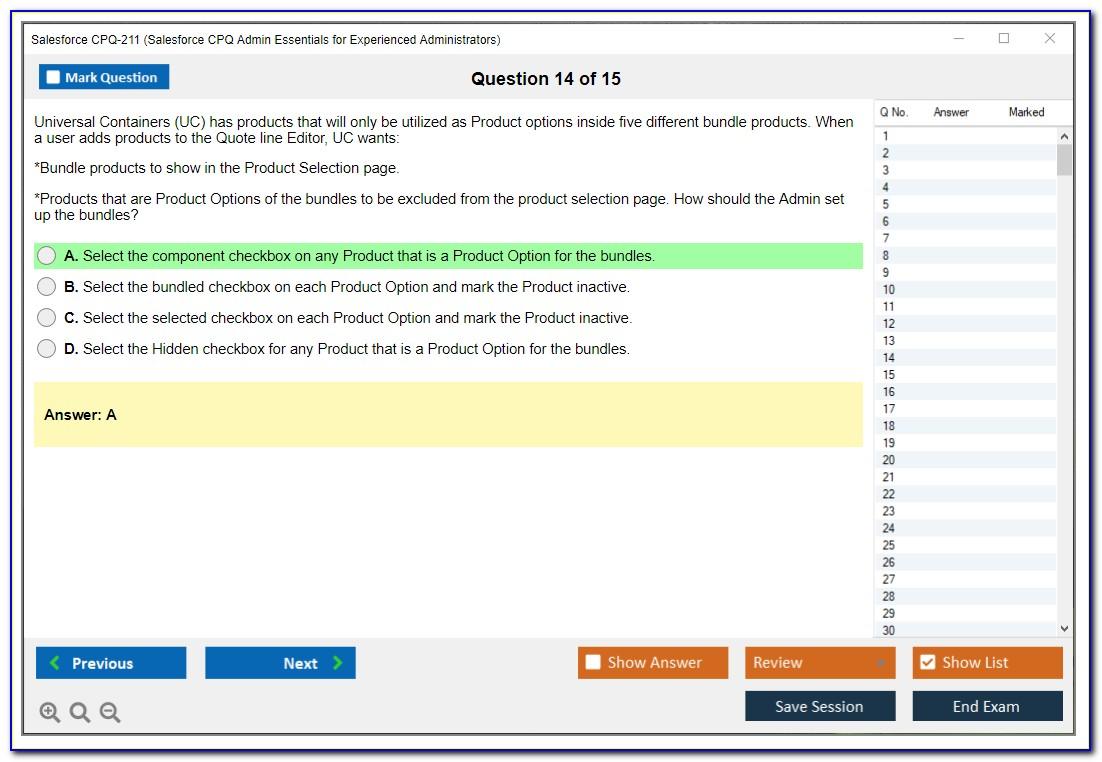 Salesforce Cpq Certification Prerequisites