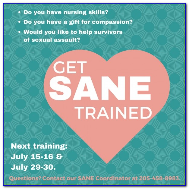 Sane Nurse Certification Nc