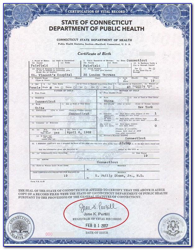 Sc Dhec Vital Records Birth Certificate