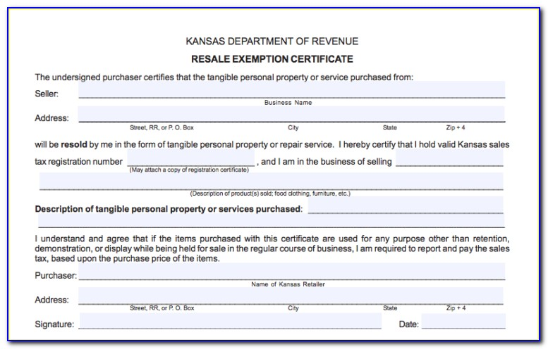 State Sales Tax Exemption Certificate Massachusetts