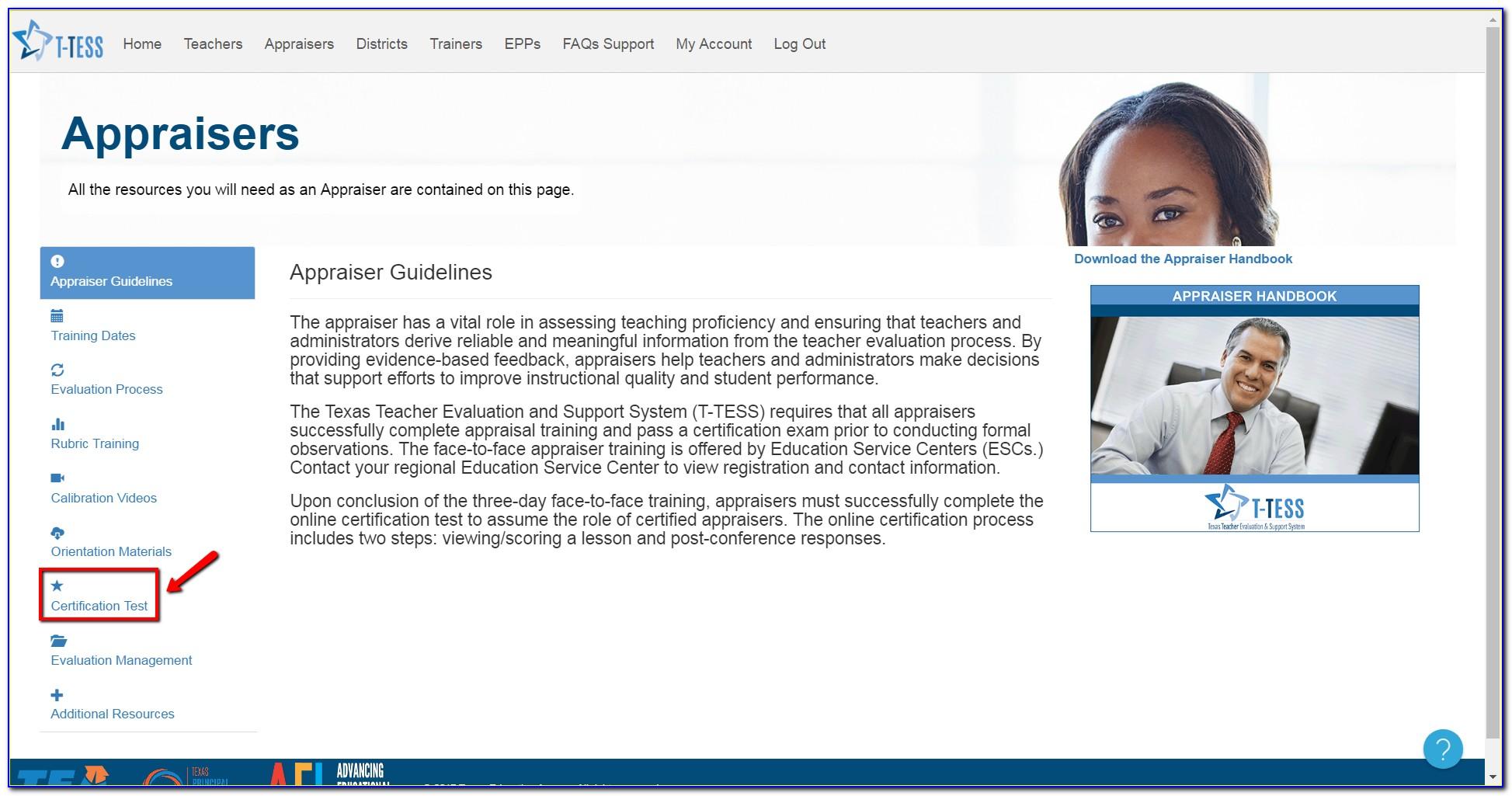 T Tess Certification Training