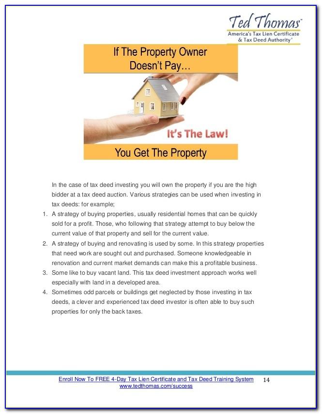 Tax Lien Certificate Investing Books