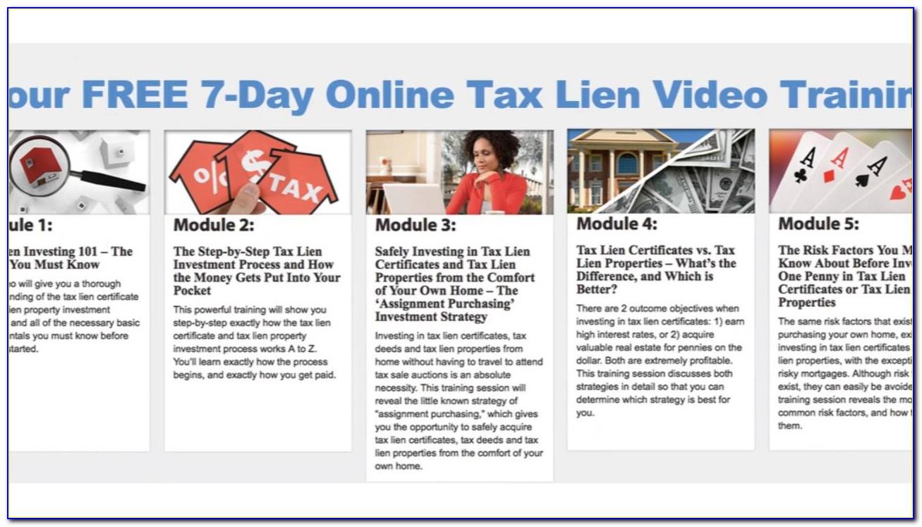 Tax Lien Certificate Investing Online