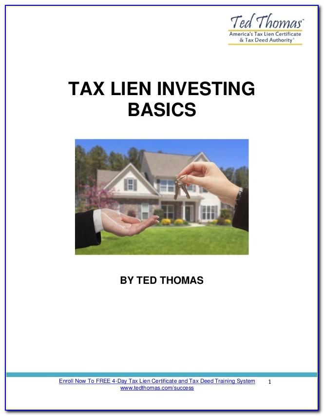Tax Lien Certificate Investing Risks