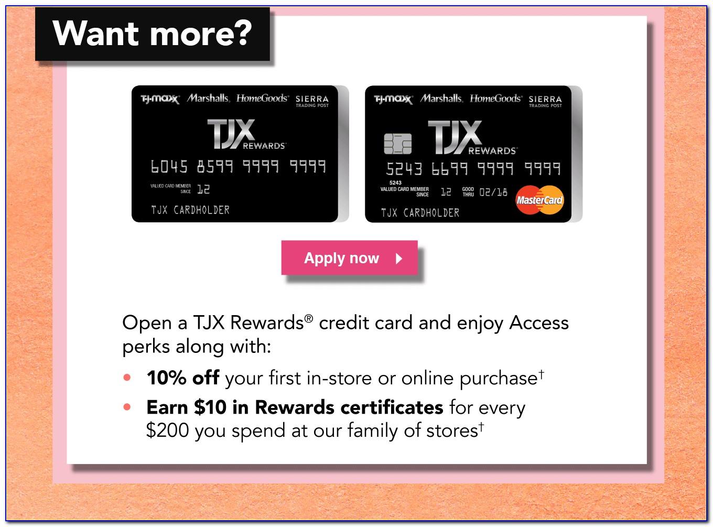 Tjx Rewards Certificate Login