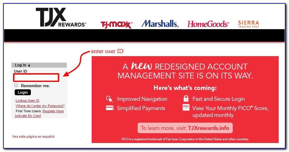 Tjx Rewards Certificate Online