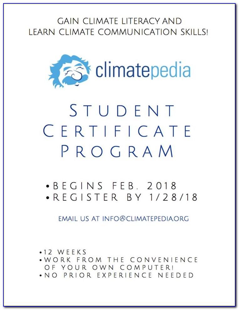 Uci Certificate Courses