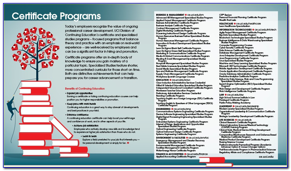 Ucsd Extension Certificate Programs