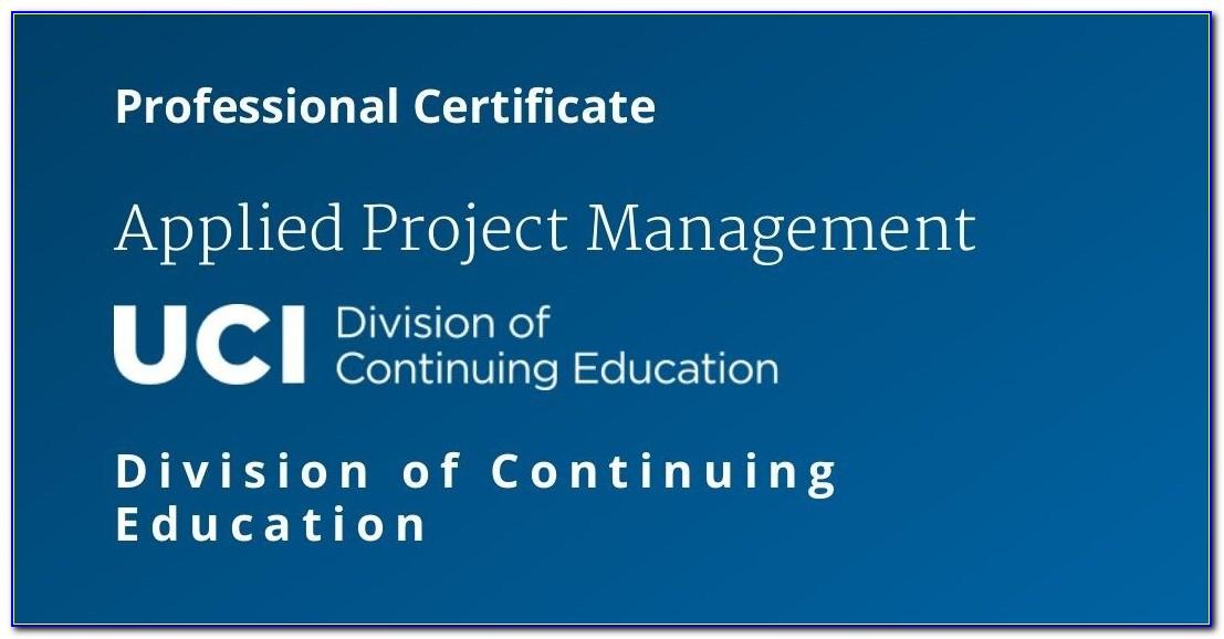 Ucsd Online Certificate Programs