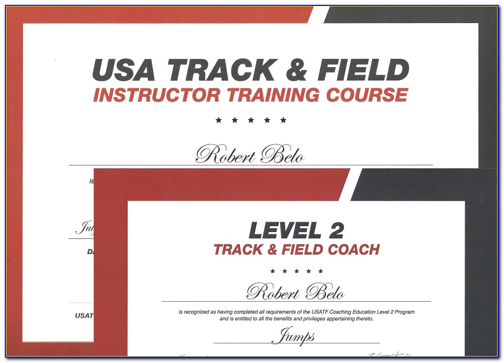 Usatf Coaching Certification Online