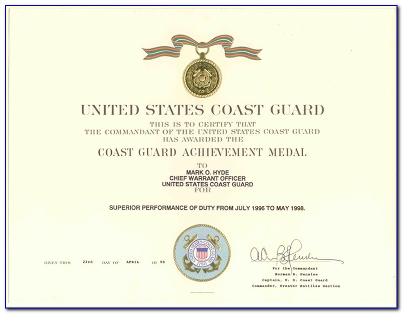 Uscg Medical Certificate Extension