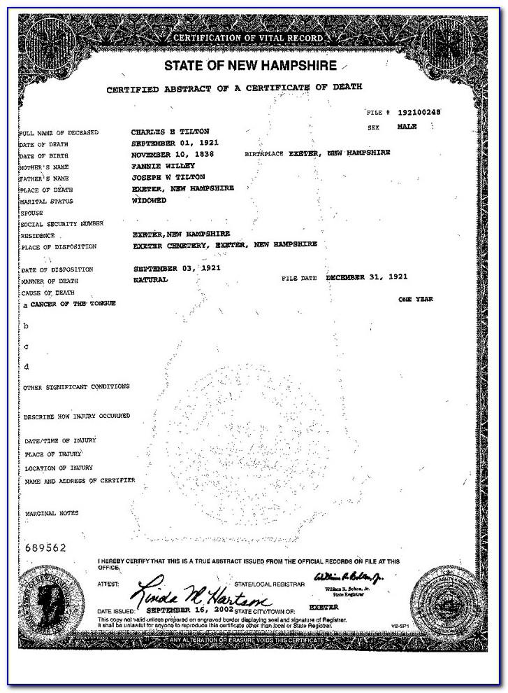 Vital Records Birth Certificate Greenville Sc