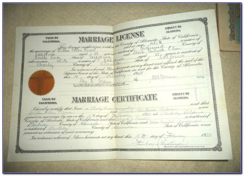 Washoe County Order Birth Certificate