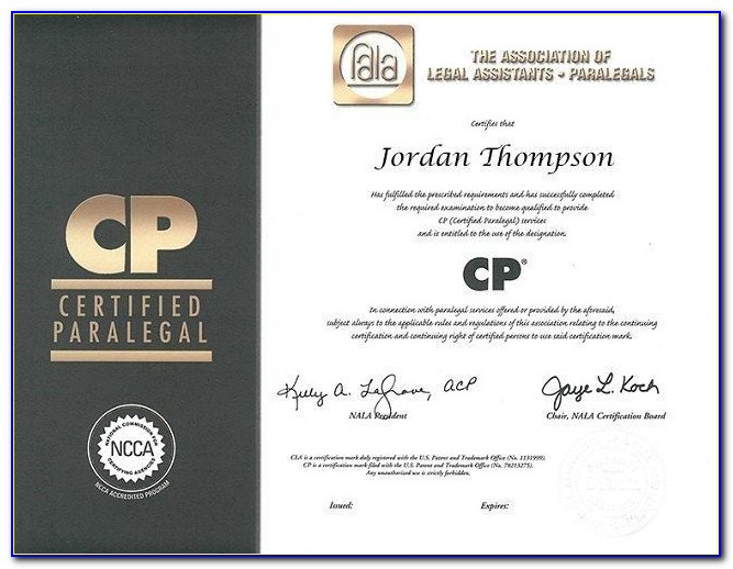 What Is A Paralegal Course